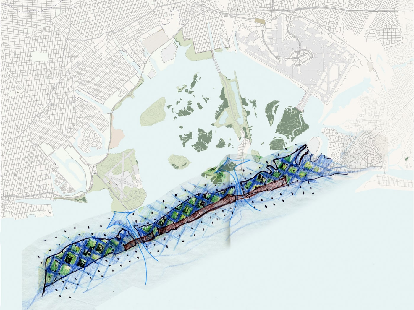 Middle Map - 71 % for MOMA - project by Reddymade Architecture & Design
