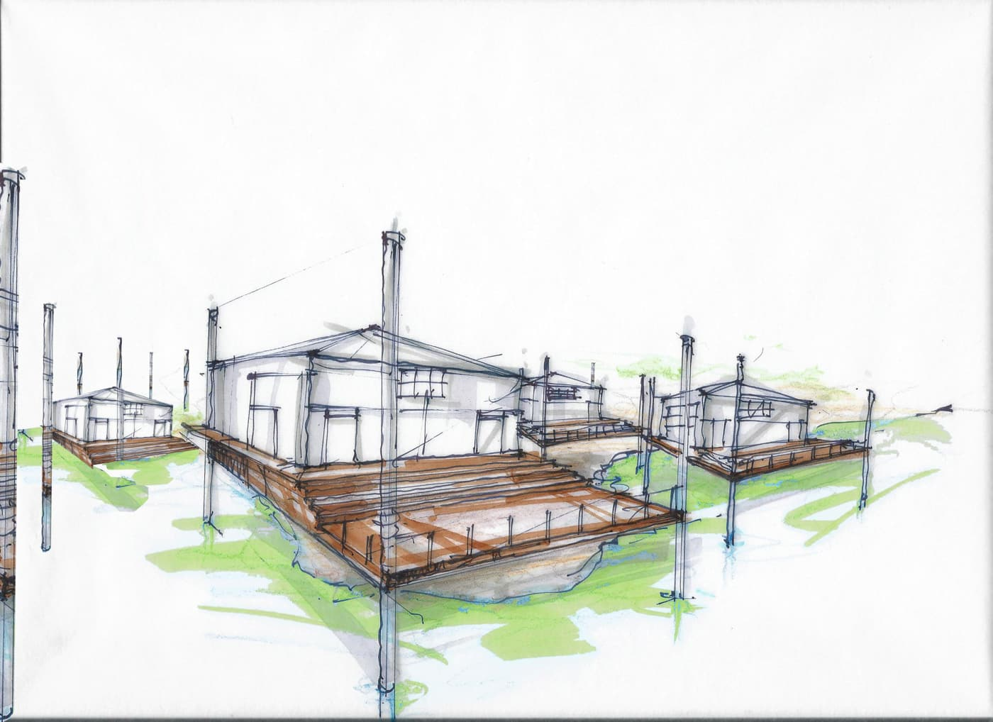Before Sketch - 71 % for MOMA - project by Reddymade Architecture & Design