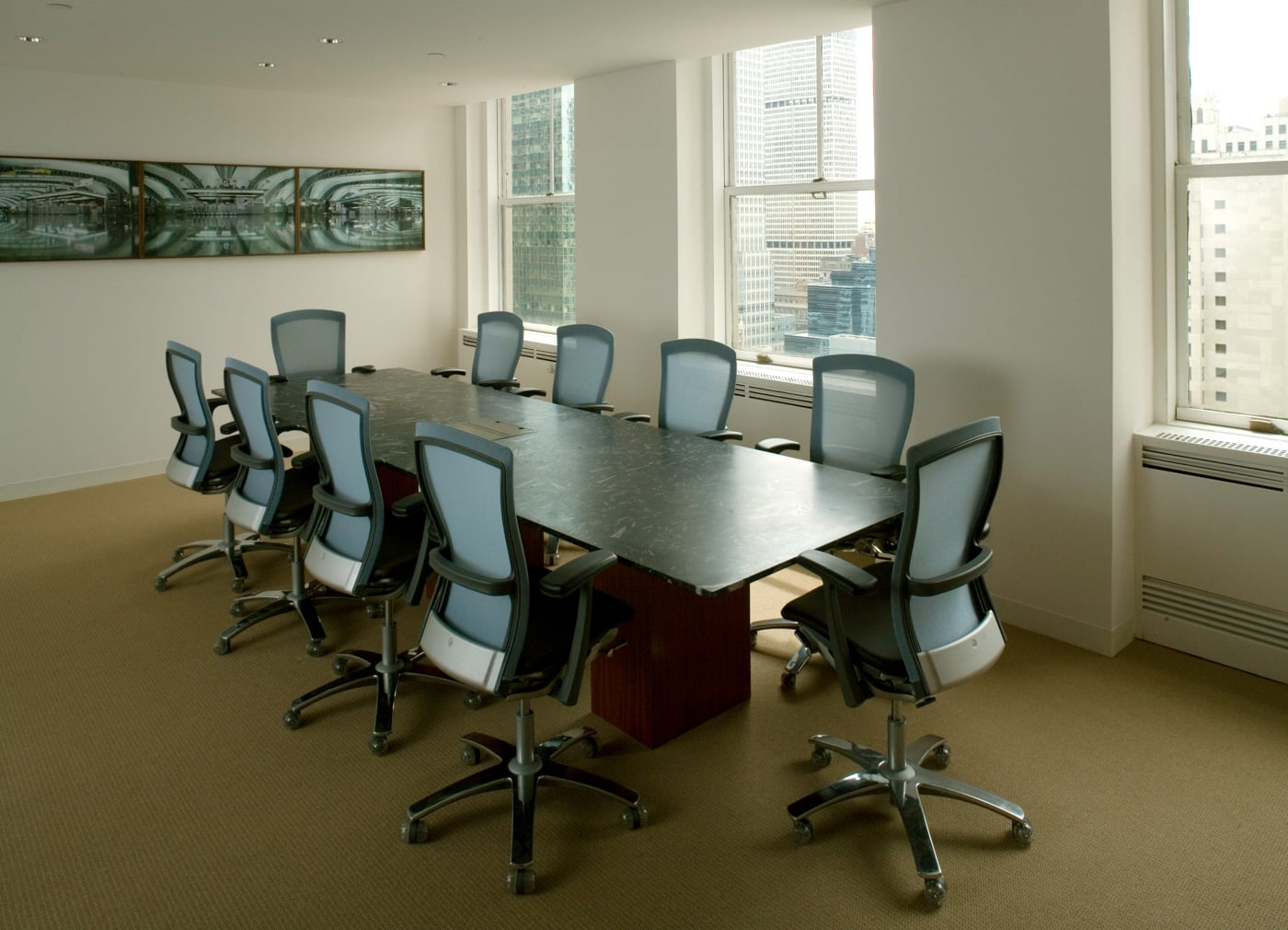 Hudson Housing Capital conference room - project by Reddymade Architecture & Design