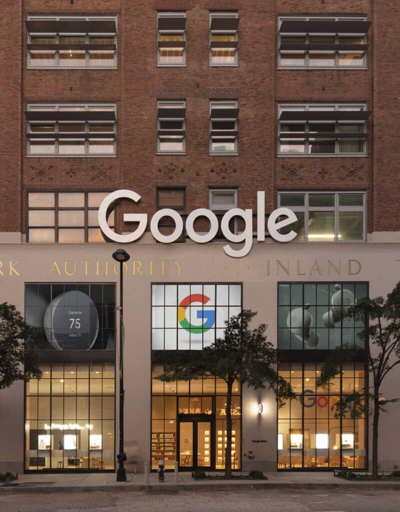Portfolio image for Google Store Chelsea by Reddymade